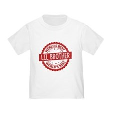 World's Best Lil Brother T-Shirt
