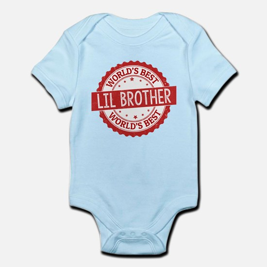 World's Best Lil Brother Body Suit