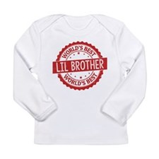 World's Best Lil Brother Long Sleeve T-Shirt