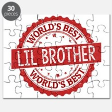 World's Best Lil Brother Puzzle