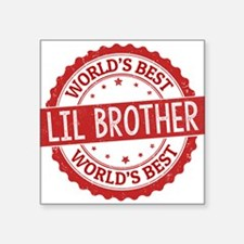 World's Best Lil Brother Sticker