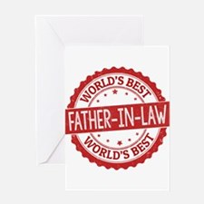 World's Best Father-in-Law Greeting Cards