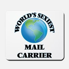 World's Sexiest Mail Carrier Mousepad
