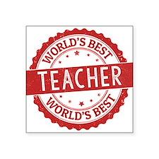 World's Best Teacher Sticker