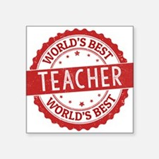 World's Best Teacher Sticker