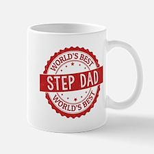 World's Best Step Dad Mugs