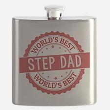 World's Best Step Dad Flask