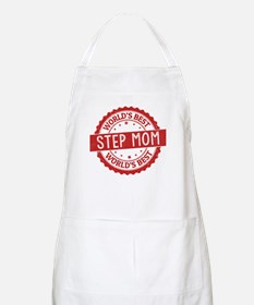 World's Best Step Mom Apron