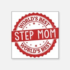 World's Best Step Mom Sticker