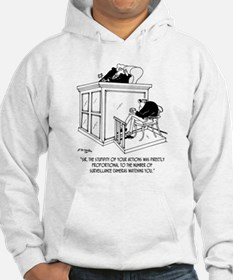 Crime Cartoon 7348 Hoodie