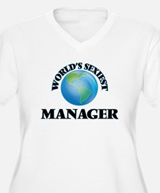 World's Sexiest Manager Plus Size T-Shirt