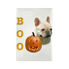 Frenchie Boo Rectangle Magnet