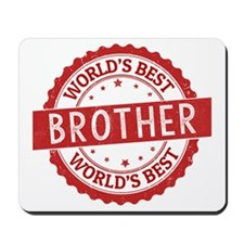 World's Best Brother Mousepad