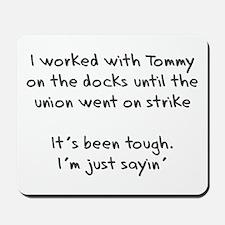 On the Docks Mousepad