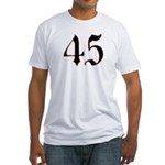 Queen 45 Fitted T-Shirt