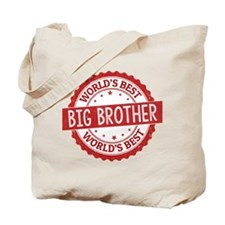World's Best Big Brother Tote Bag