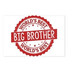 World's Best Big Brother Postcards (Package of 8)