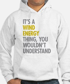 Wind Energy Thing Hoodie