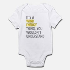 Wind Energy Thing Infant Bodysuit