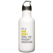Wind Energy Thing Water Bottle