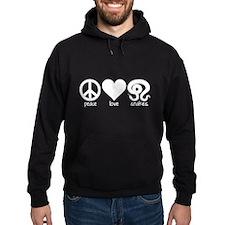 Peace Love & Snakes Hoodie
