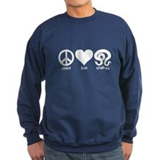 Peace Love And Snakes Sweatshirt