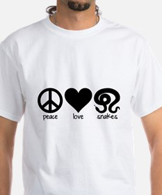 Peace Love And Snakes Men's Shirt