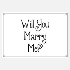 Will You Marry Me? Banner