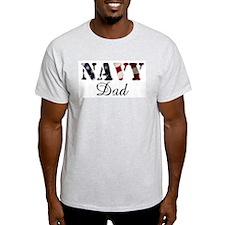 Navy Dad Flag T-Shirt