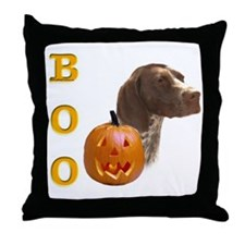 GSP Boo Throw Pillow