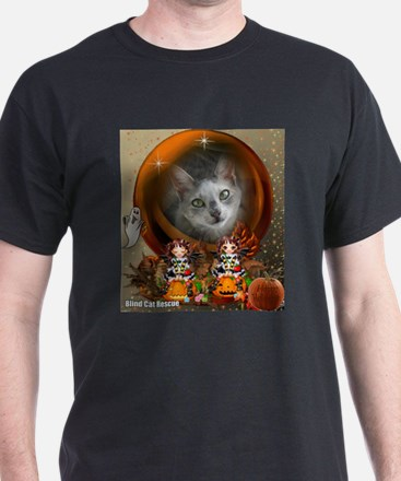 Unique Blind cat T-Shirt