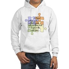 A Friend Gathers Your Pieces Hoodie