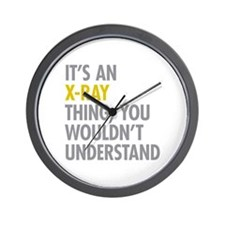 Its An X-Ray Thing Wall Clock