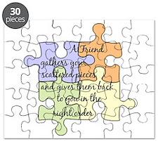 A Friend Gathers Your Pieces Puzzle