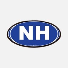 New Hampshire NH Euro Oval Patches