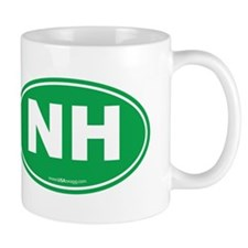 New Hampshire NH Euro Oval Mug