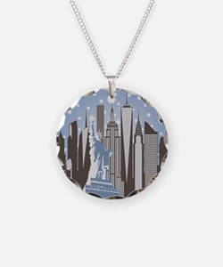 Nyc Snowflakes Necklace