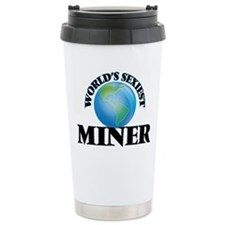 World's Sexiest Miner Thermos Mug
