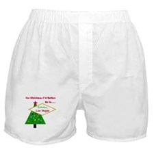Christmas In Las Vegas Boxer Shorts