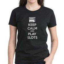 Keep Calm And Play Slots Tee