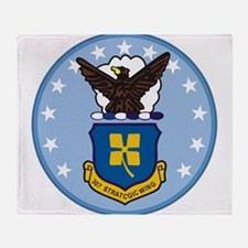 307th Strategic Wing.png Throw Blanket