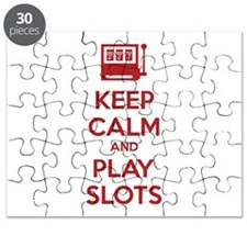 Keep Calm And Play Slots Puzzle
