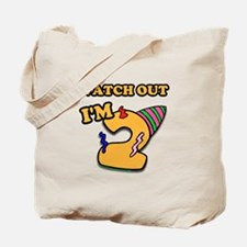 Turning 2- watch out Tote Bag