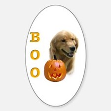 Golden Boo Oval Decal
