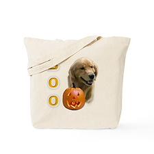 Golden Boo Tote Bag