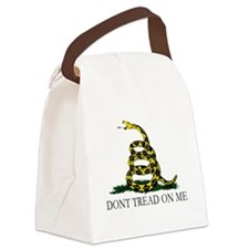 Dont Tread on Me Canvas Lunch Bag
