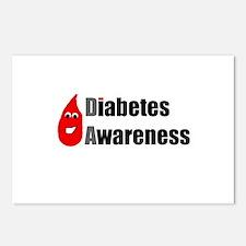 Diabetes Awareness Drop B Postcards (Package of 8)