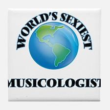 World's Sexiest Musicologist Tile Coaster