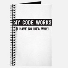 My code works no idea why Journal