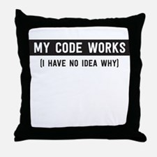 My code works no idea why Throw Pillow